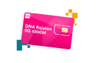 DNA rajaton 5G 1000M